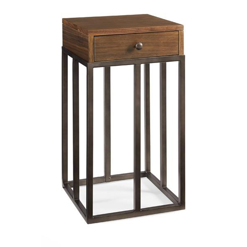 Caracole Crf Acctab 003 Modern Craftsman Accent Table