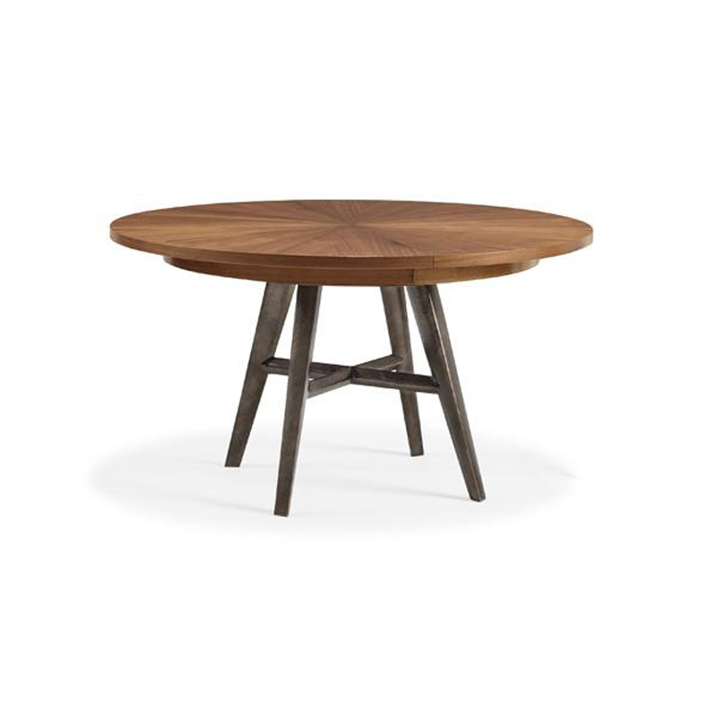Caracole Crf Dintab 003 Modern Craftsman Dining Table Bungalow Table