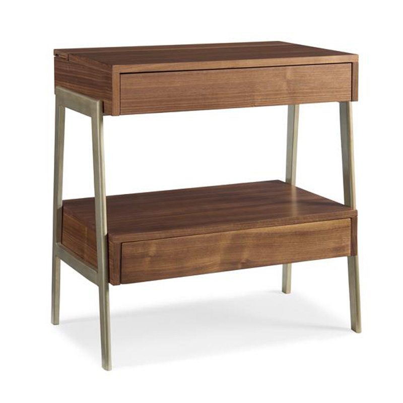 Caracole Crf Endtab 005 Modern Craftsman End Table Power