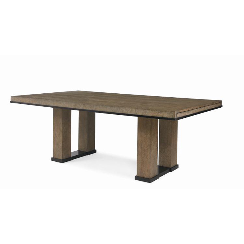 Century 709 320 119 Mesa Pacific Dining Table Discount Furniture At Hickory Park Furniture Galleries
