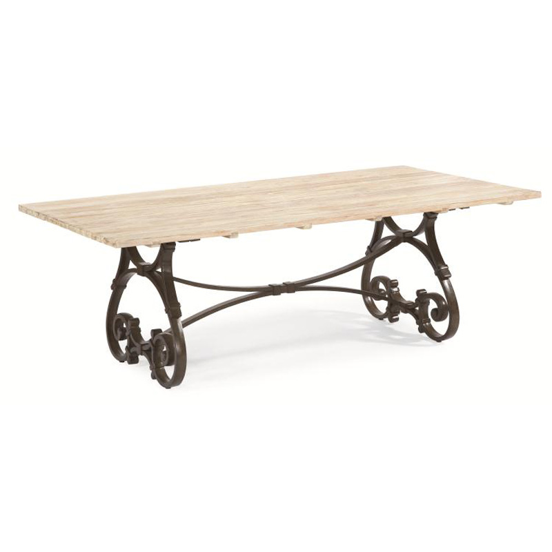 Century d29 95 9 maison jardin 84 inch rectangular trestle table discount fur - Cdiscount table jardin ...