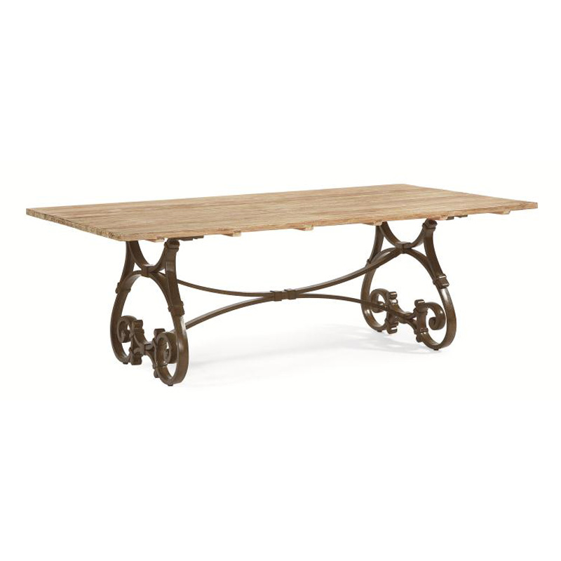 Century d29 95 1 maison jardin 84 inch rectangular trestle table discount fur - Table jardin cdiscount ...