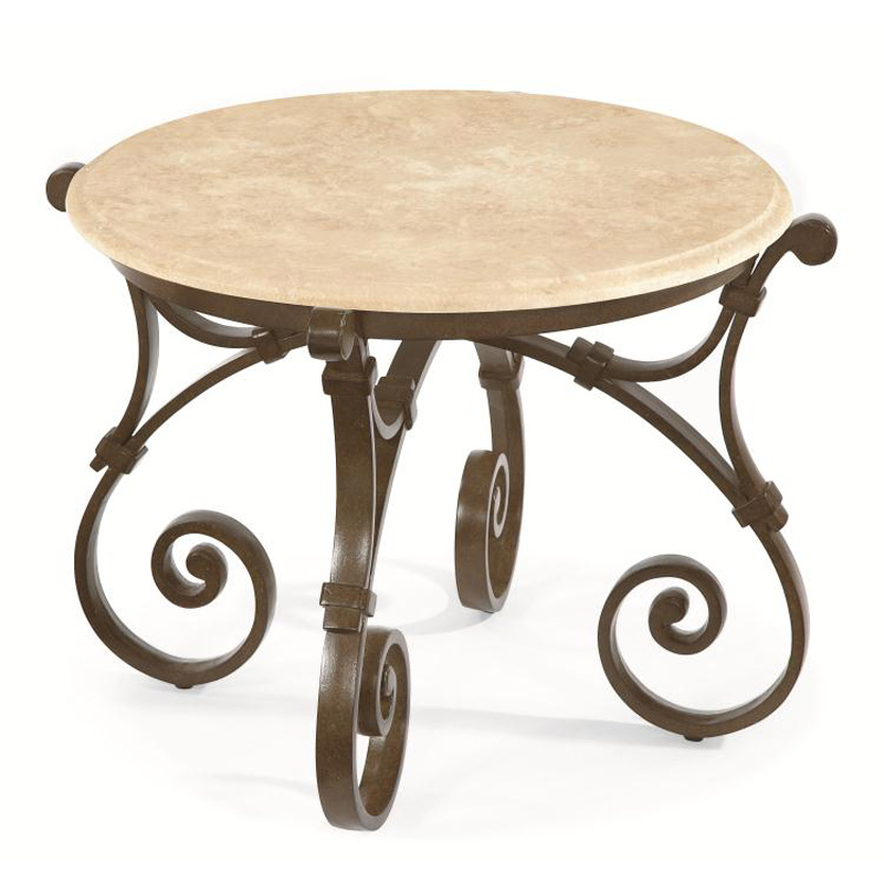Century d29 85 9 maison jardin round side table discount furniture at hickory - Table jardin cdiscount ...