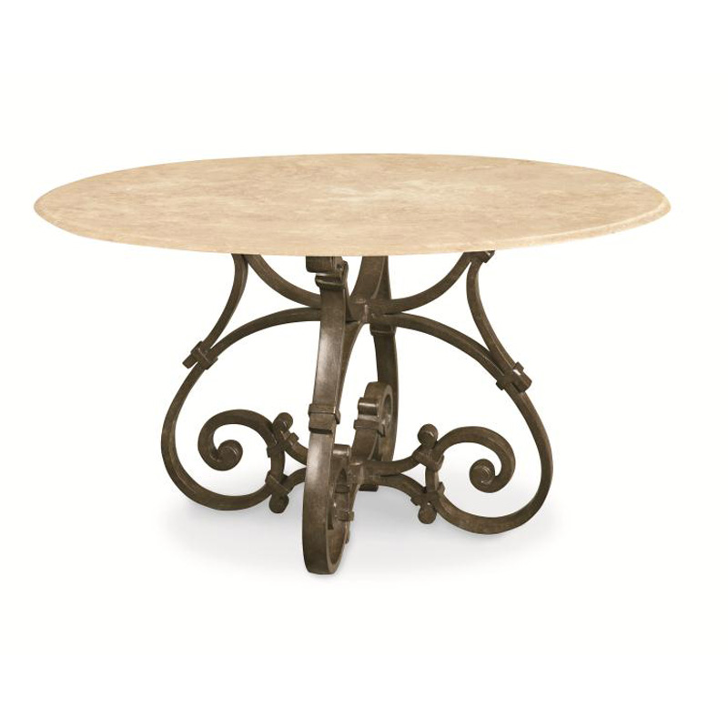 Century d29 94 1 maison jardin 42 inch round dining table discount furniture - Table jardin discount ...