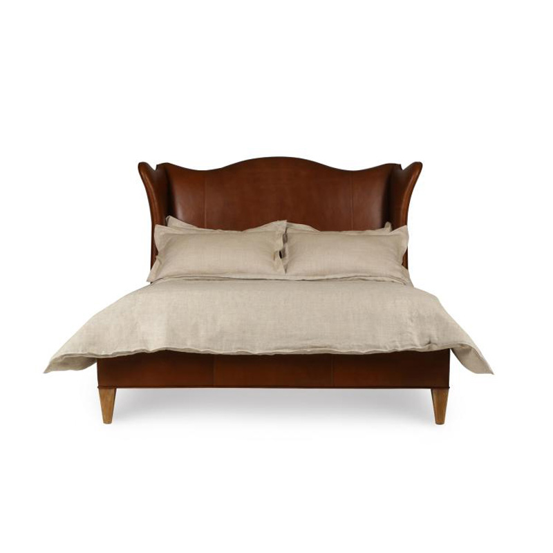 King Size Bed Furniture Leather From North Carolina