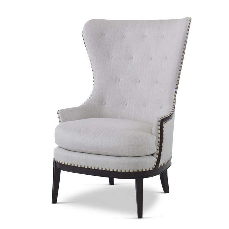Cheap Furniture With Delivery: Century T3330 Bob Timberlake Upholstery Diannes Wing Chair