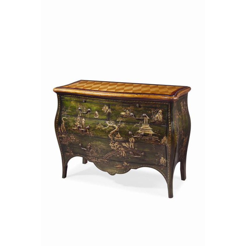 Century mn5207 archive home and monarch bombe chest for Clearance furniture mn