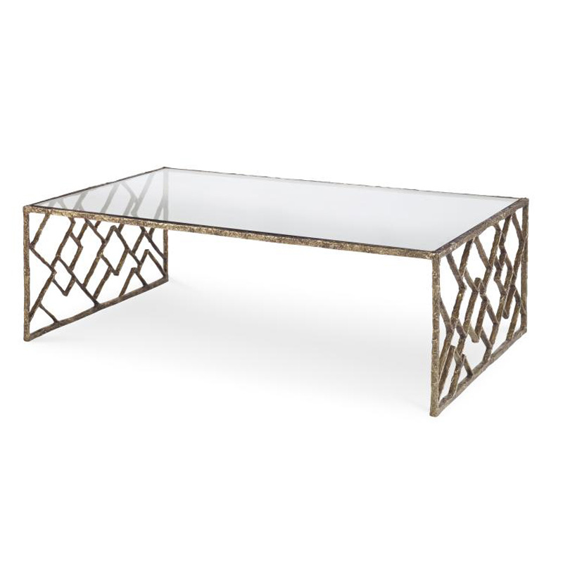 Century Sf5732 Grand Tour Furniture Lattice Bronze Cocktail Table Discount Furniture At Hickory