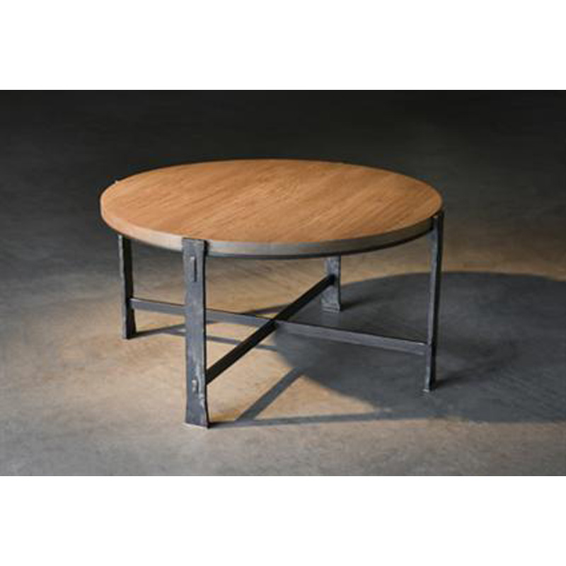 Charleston forge 6272 woodland round cocktail table for Charleston forge furniture