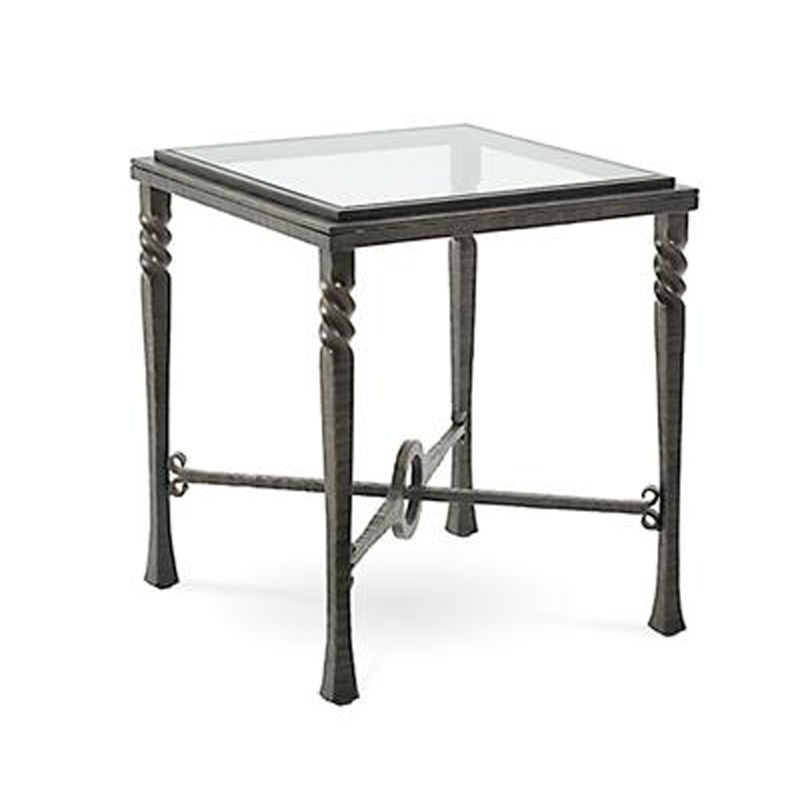 Charleston forge 7513 omega square end table discount for Charleston forge furniture