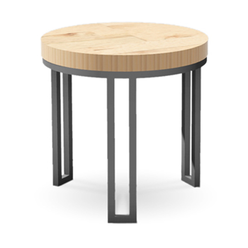 Charleston forge 6311 davidson round end table discount for Charleston forge furniture