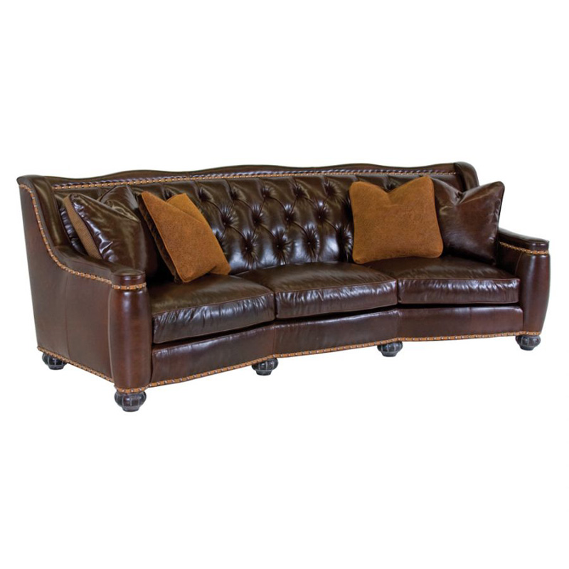 Leather Sofa Discount: Classic Leather 8628-T CL Sofa Chelsea Tufted Sofa