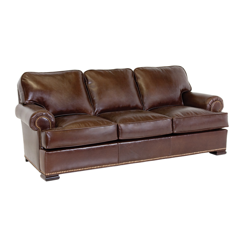 Classic leather 3613 meeting street sofa discount for Cheap classic sofas