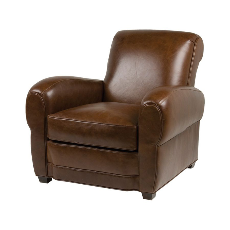 Classic Leather Leather Chair Huntley Club Chair