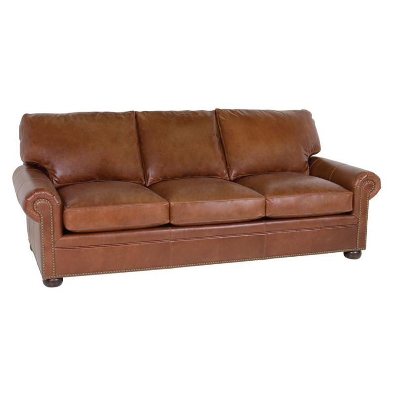 Inexpensive Leather Sofa: Classic Leather 4803 Leather Sofa Tanner Sofa Discount