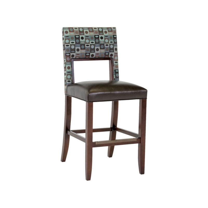 Classic Leather 6106abs Barstool Bauer Armless Bar Stool