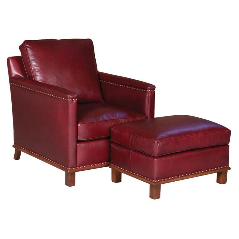 Classic Leather 21 22 Wt 20 Wt Lindsay Chair Ottoman