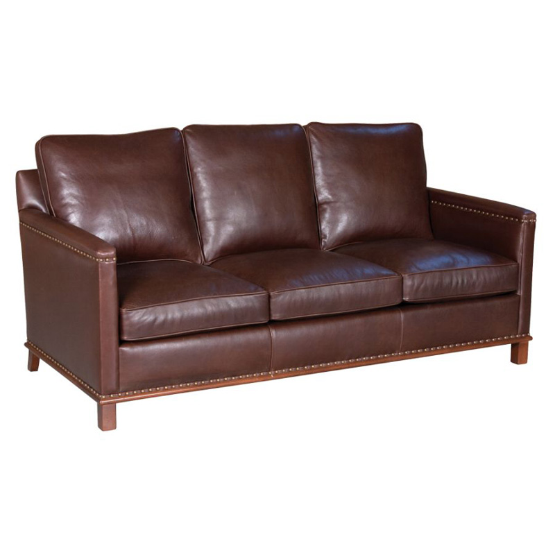 Classic leather 23 66 3 3 wt lindsay sofa discount for Cheap classic sofas