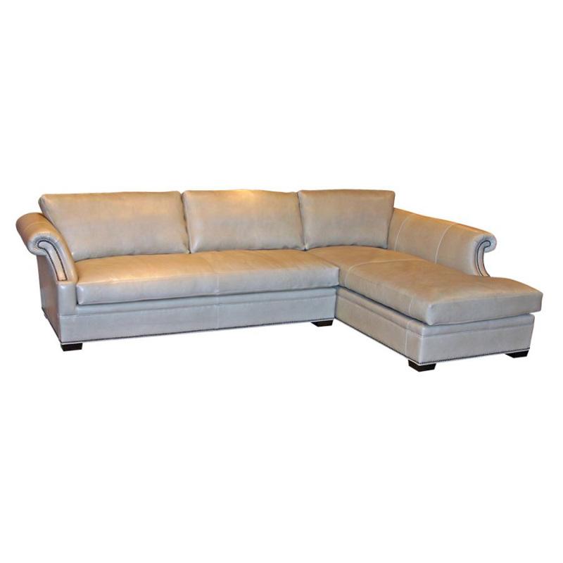 Leather Furniture Outlet North Carolina: 8801-CH-RAF Cardiff LAF Sofa