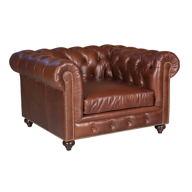 Classic Leather 1396-53 Hemingway Chair Discount Furniture