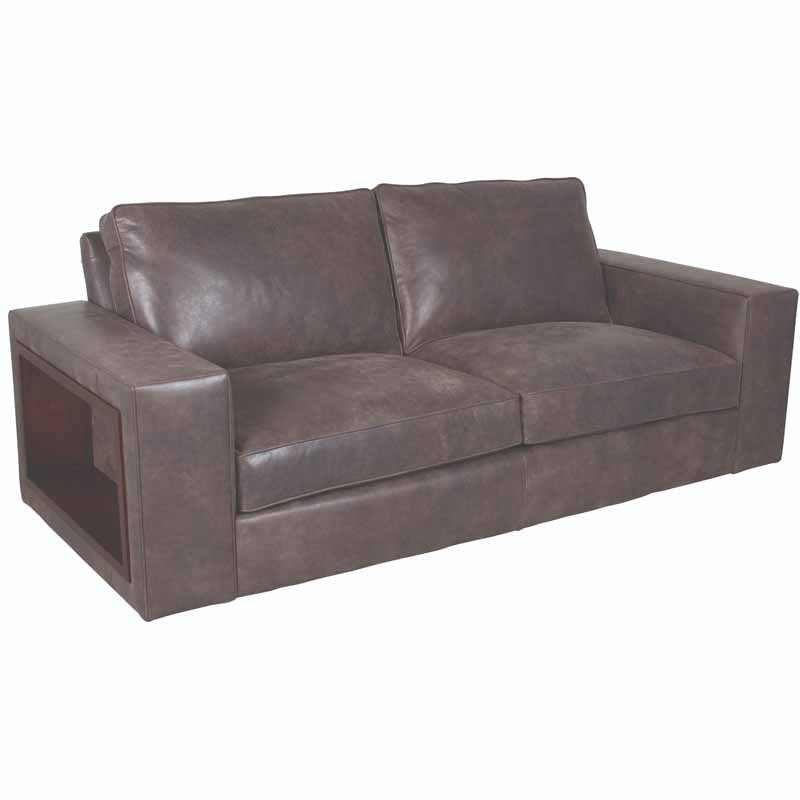 Leather Sofa Discount: Classic Leather 4523 Edison Sofa Discount Furniture At