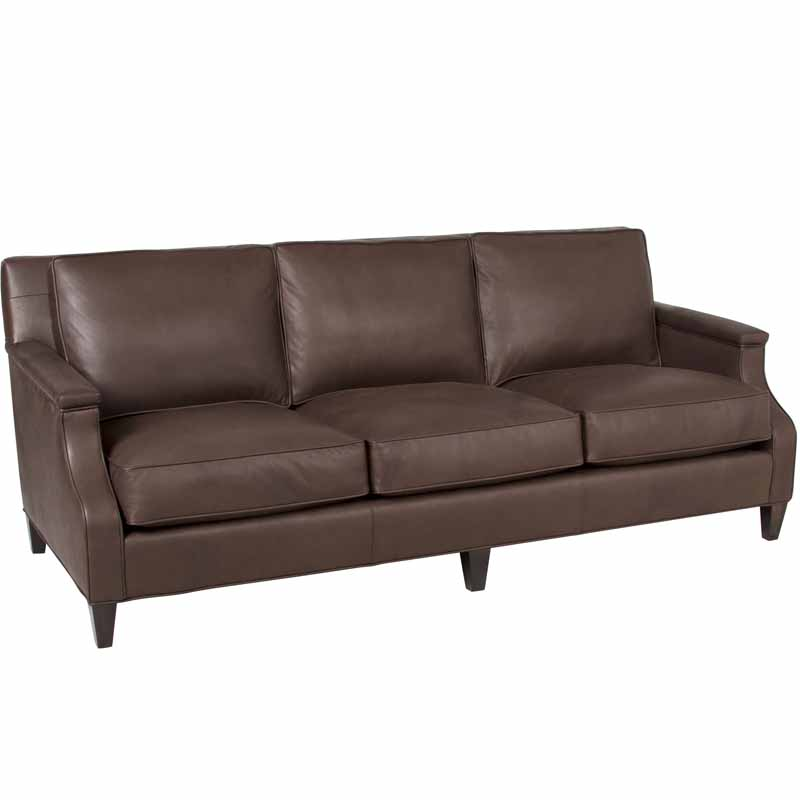 Inexpensive Leather Sofa: Classic Leather Candace Sofa Discount Furniture At Hickory