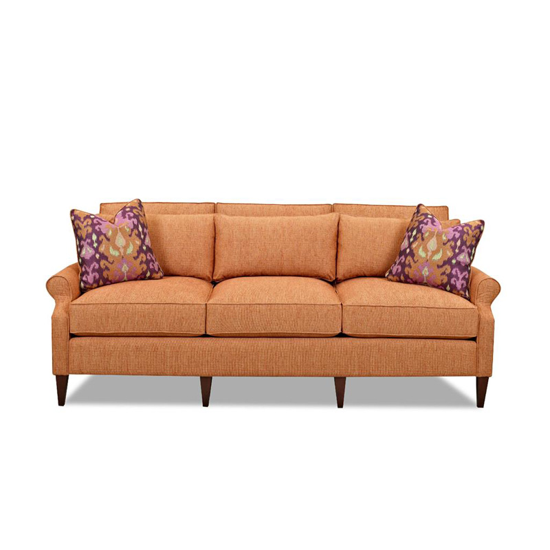 Comfort Design Cp7060 S Wharton Fabric Sofa Discount Furniture At Hickory Park Furniture Galleries