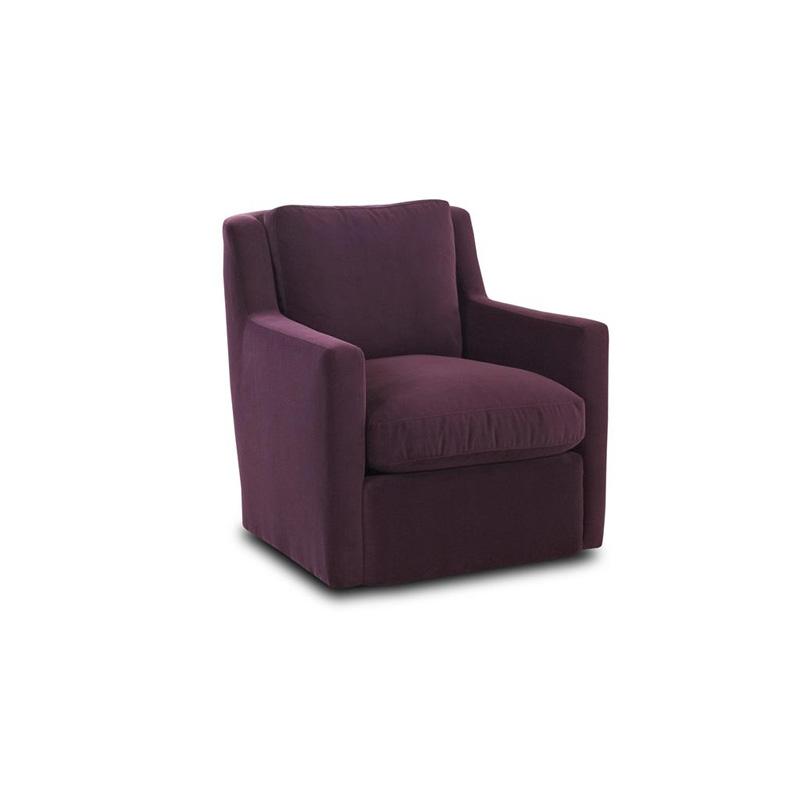 Comfort Design C44 Mswvl Simmons Fabric Swivel Wing Chair