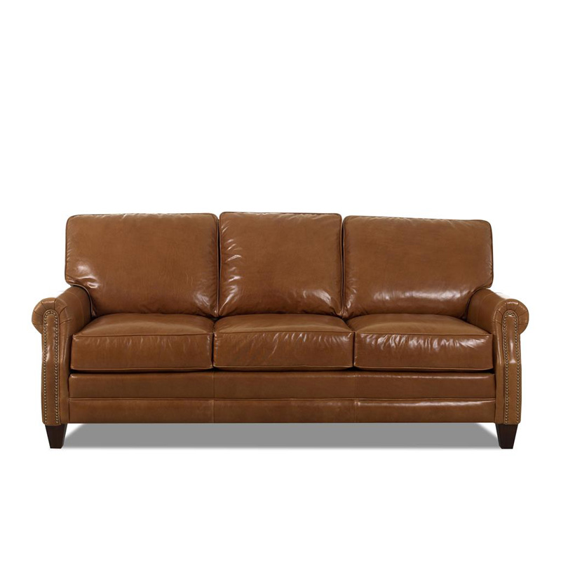 Comfort Design Cl7000 10 S Camelot Leather Sofa Discount Furniture At Hickory Park Furniture
