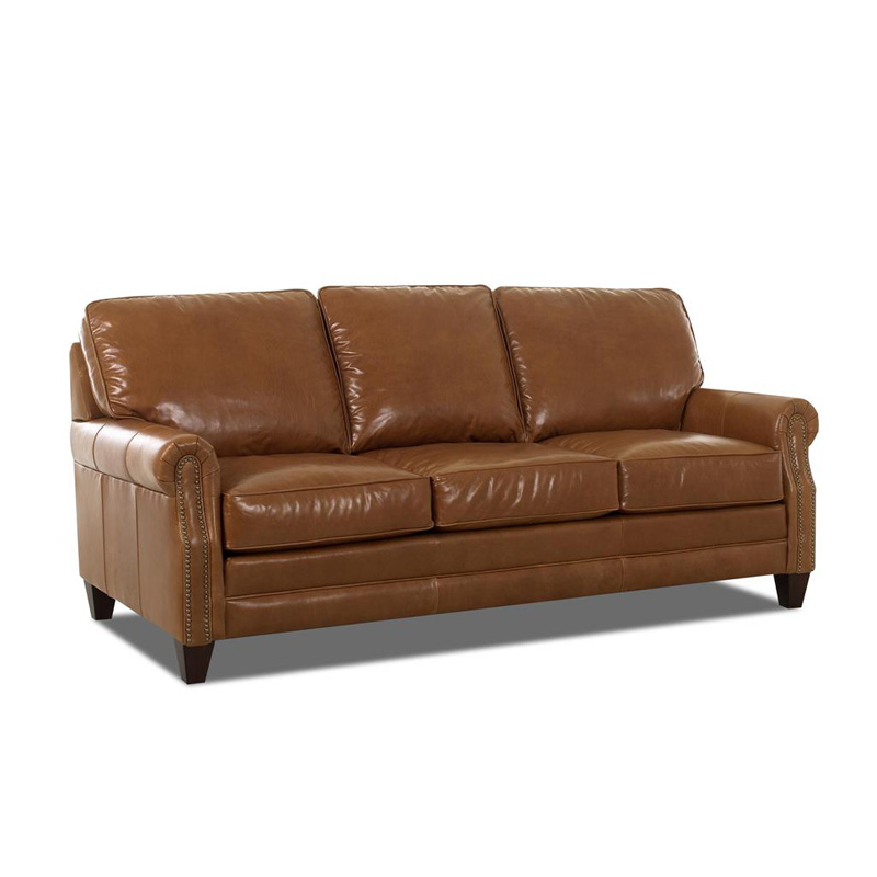Comfort design cl7020 dqsl camelot leather sleeper sofa for Discount leather furniture