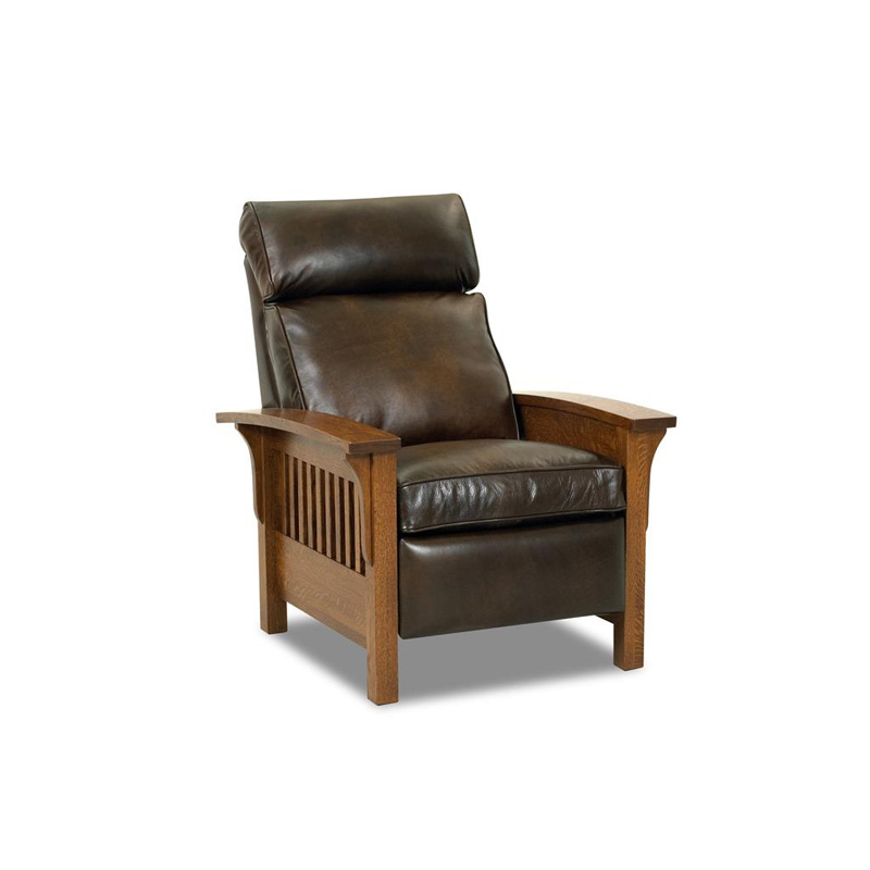 Designer Discount Furniture: Comfort Design CL712 HLRC Mission Leather Reclining Chair