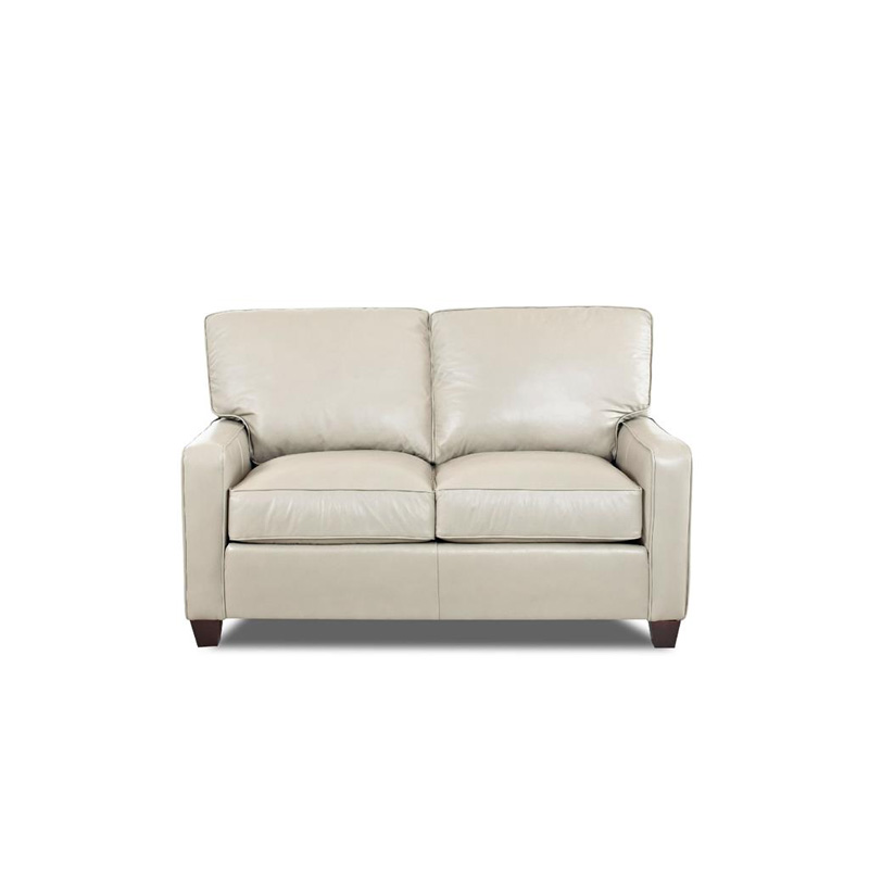 Comfort Design Cp4035 Ls Ausie Leather Stationary Loveseat Discount Furniture At Hickory Park