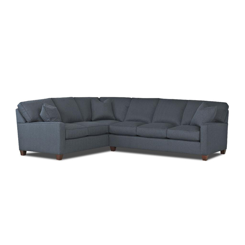 Comfort Design C4035 Sect Ausie Sectional Discount Furniture At Hickory Park Furniture Galleries