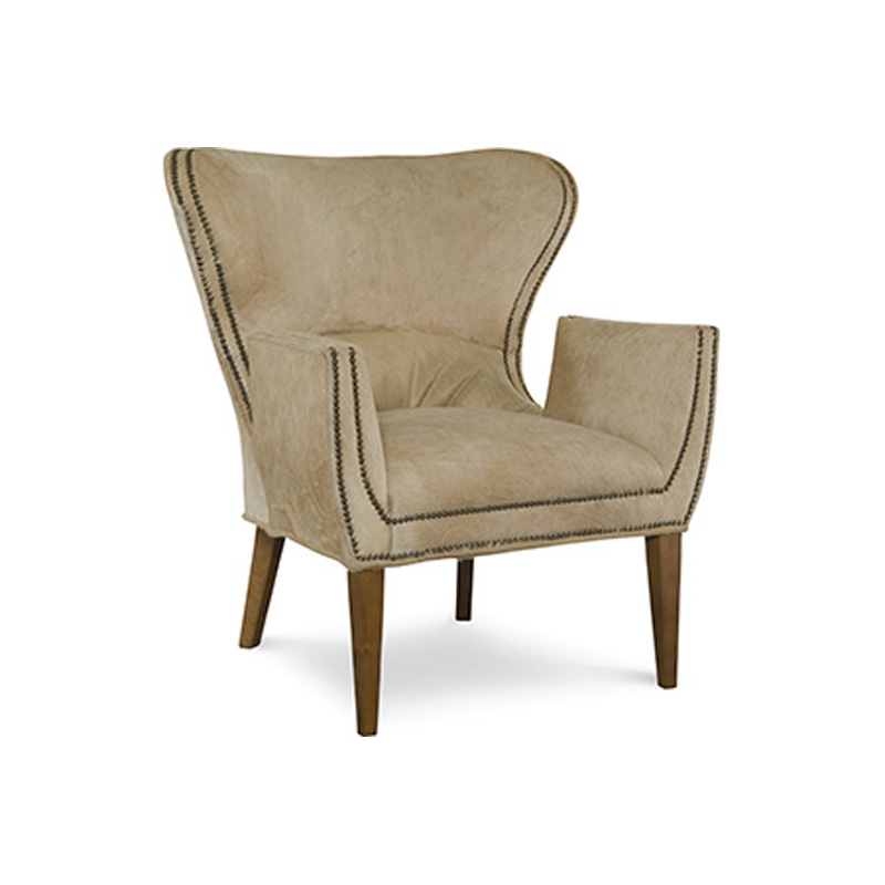 CR Laine L405 SPC Gustav Leather Chair Discount Furniture