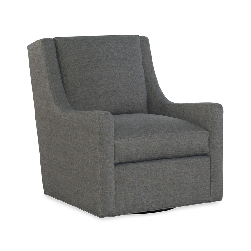 CR Laine 6500-05SW Houston Swivel Chair Discount Furniture