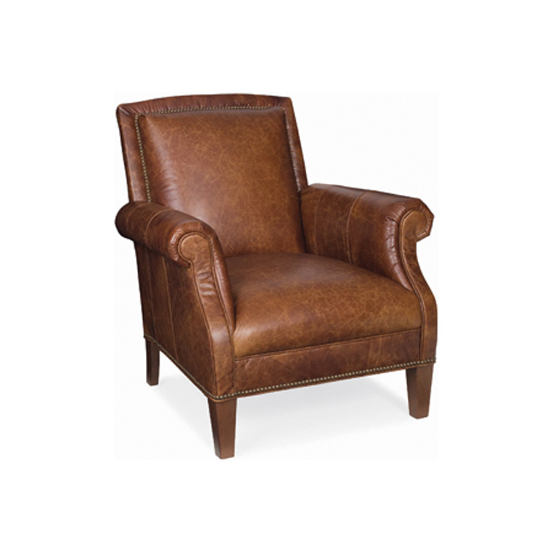 CR Laine L5565 Garond Leather Chair Discount Furniture at