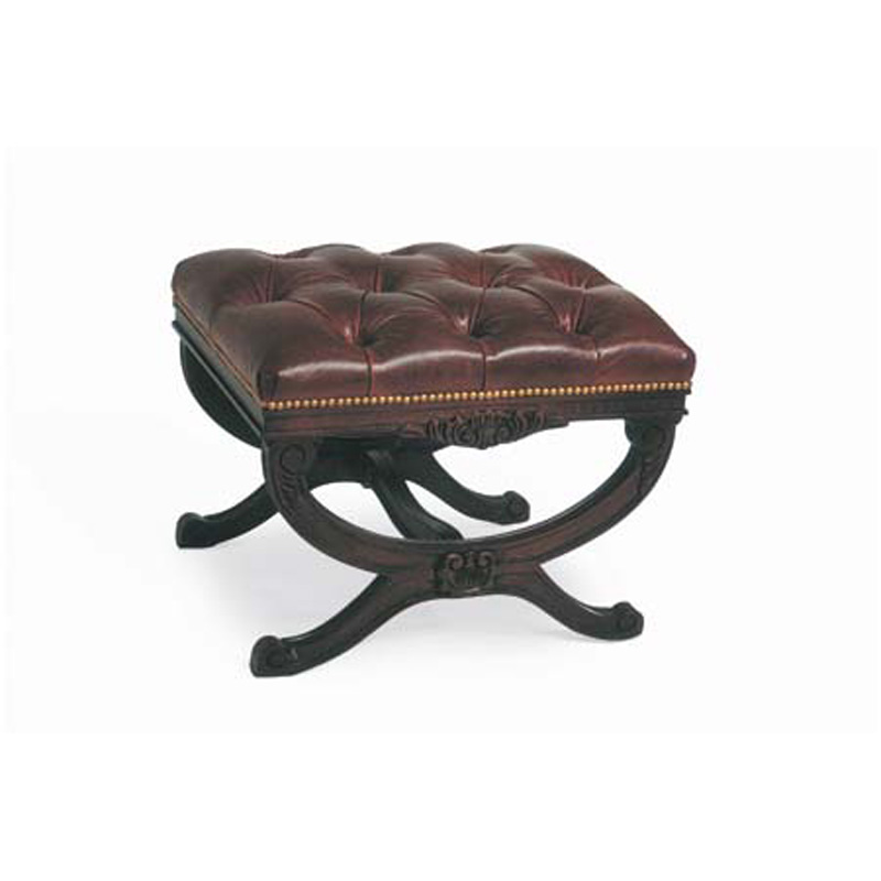 Cr Laine L9697 Tuscany Leather Ottoman Discount Furniture