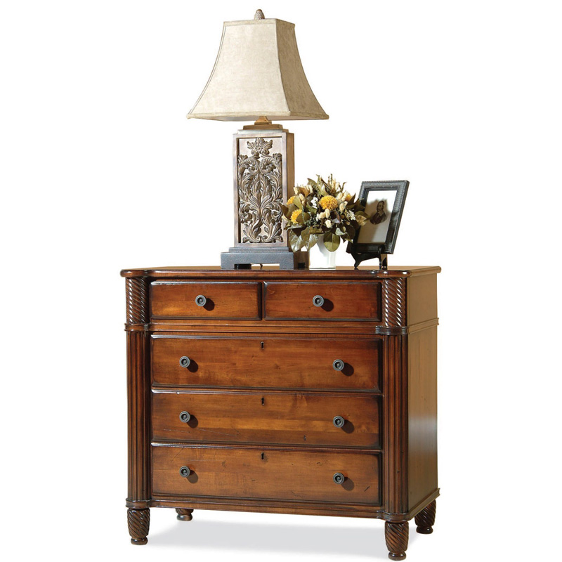 Durham 501 166 Mount Vernon Architect Bachelor Chest Discount Furniture At Hickory Park