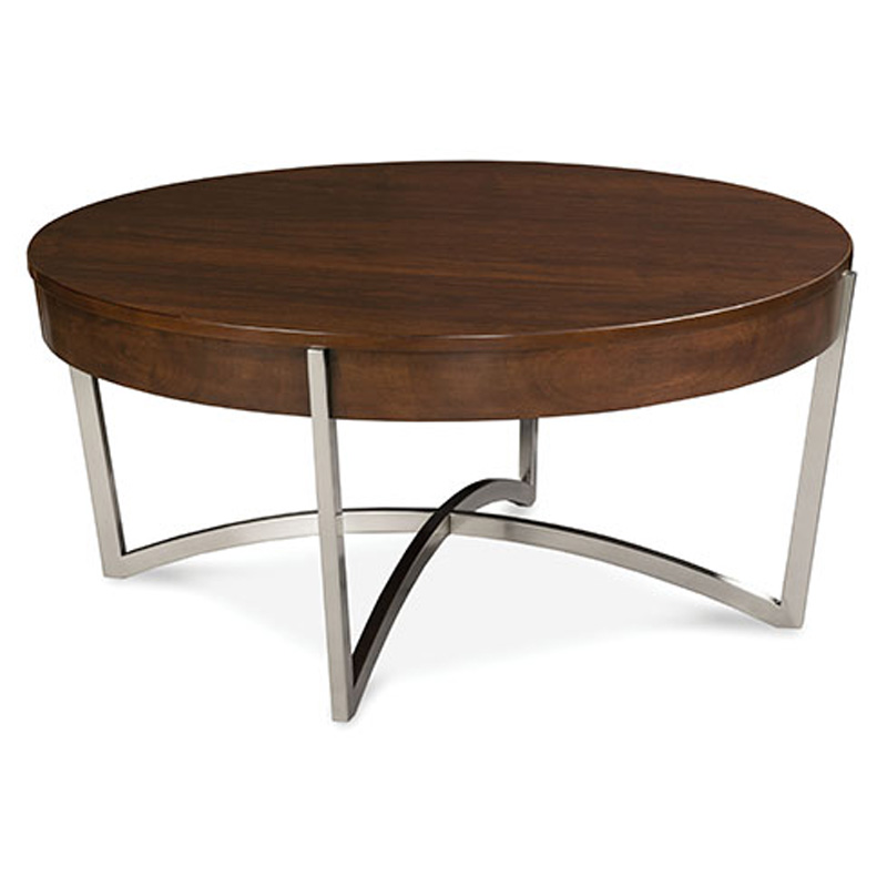 Fairfield 8194 13 occasional round cocktail table discount Round cocktail table