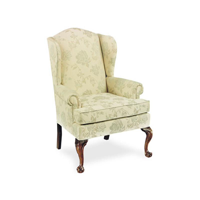 Cheap Furniture With Delivery: Fairfield 5129-01 Wing Chair Discount Furniture At Hickory