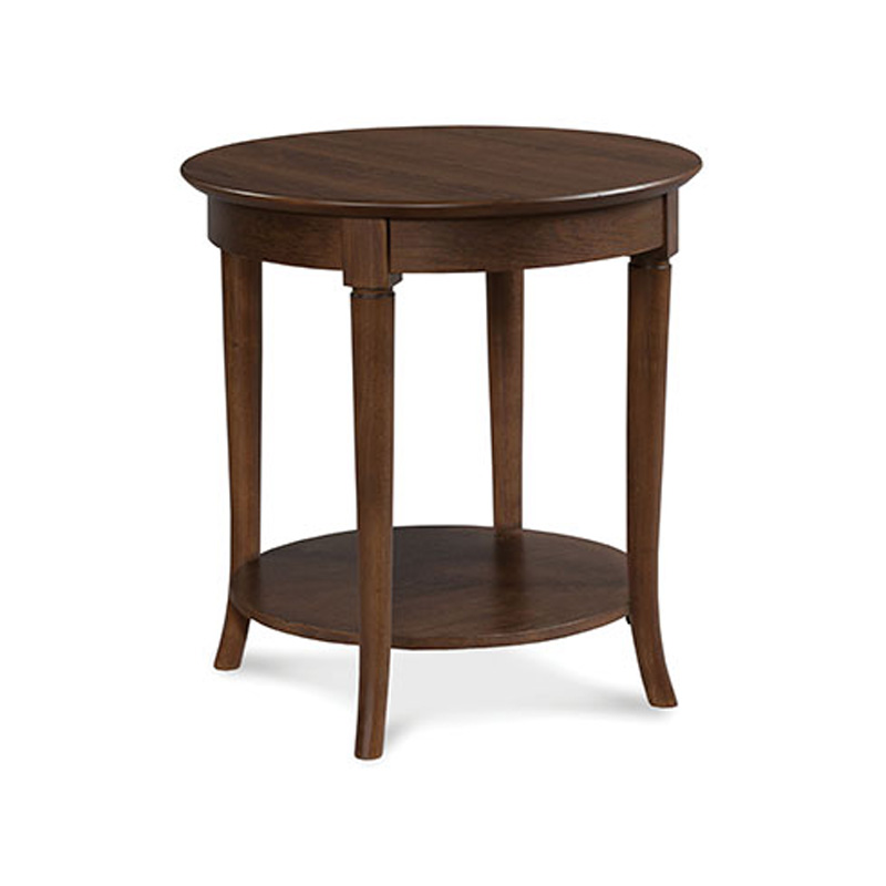 Fairfield 4177 28 occasional collection round accent table for Occasional table manufacturers