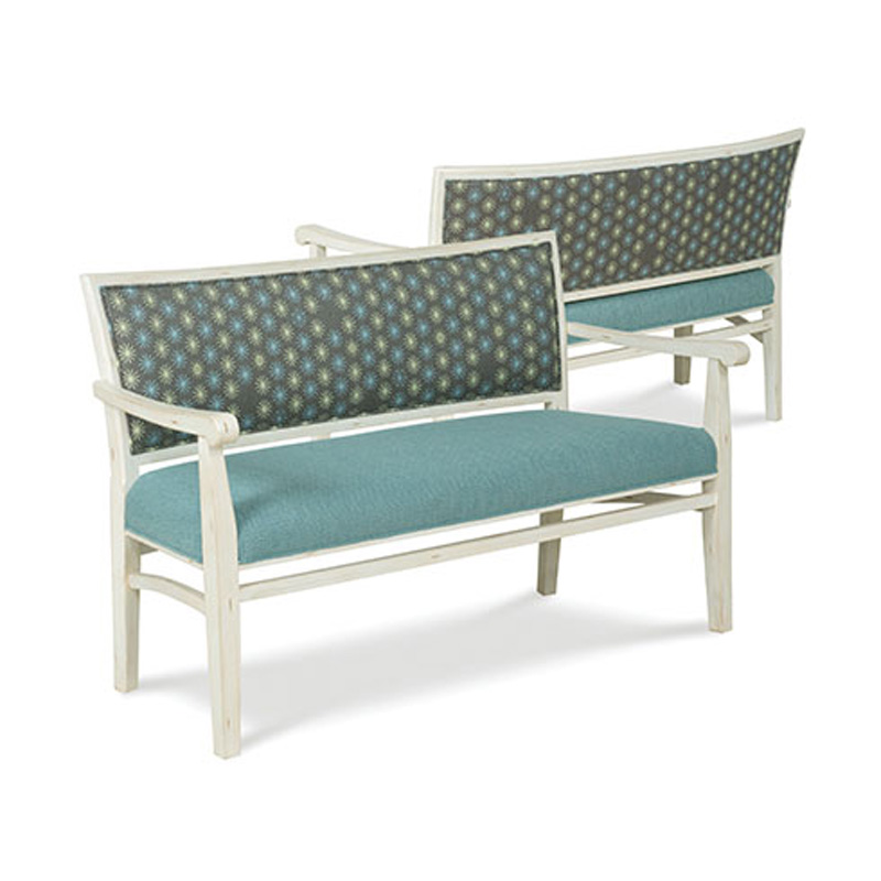 Fairfield 5711 40 Settee Collection Settee Discount Furniture At Hickory Park Furniture Galleries
