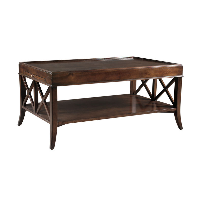 Fauld Cg471a Cocktail Tables Rectangular X End Coffee Table Discount Furniture At Hickory Park