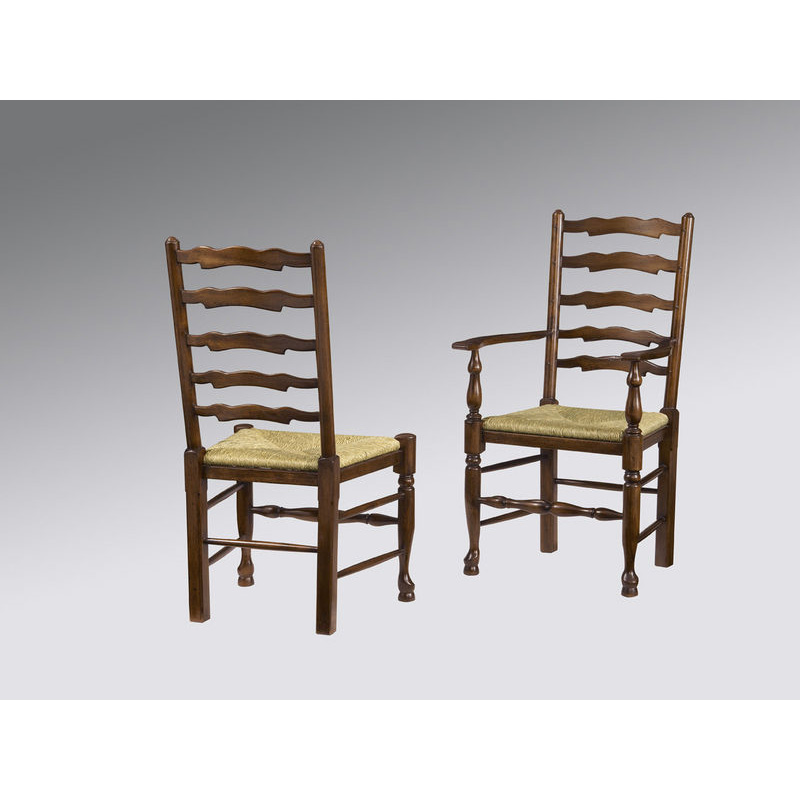 Fauld cg dining chairs yorkshire ladderback pegged side
