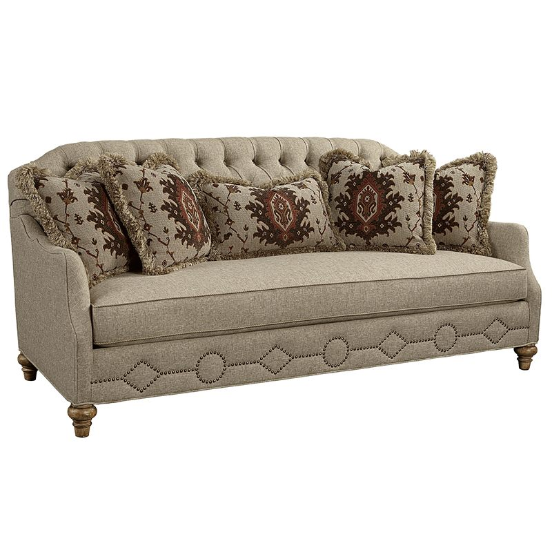 Biltmore 4514 01 upholstery vestibule tufted back sofa for Affordable furniture upholstery