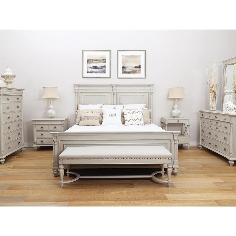 Fine Furniture Design 1511 467 468 469 Brookhaven Brookston King Bed Discount Furniture At