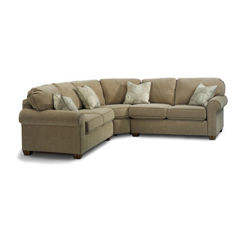 Flexsteel 3535 Sect Thornton Sectional Discount Furniture