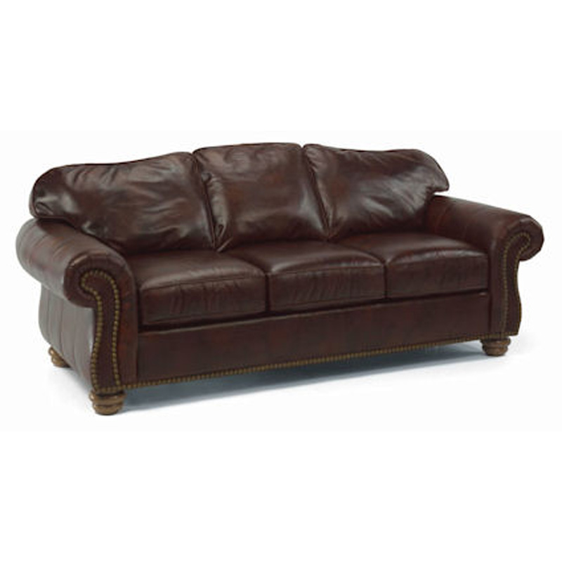 Flexsteel 3648 31 Bexley Sofa With Nails Discount