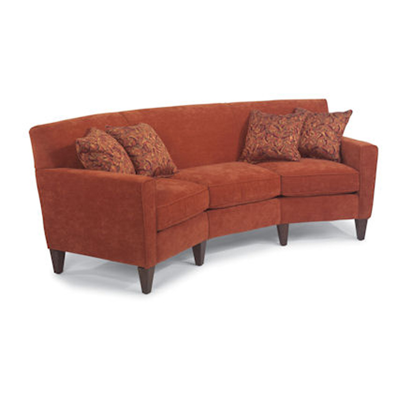 Flexsteel 3966 323 Digby Conversation Sofa Discount Furniture At Hickory Park Furniture Galleries