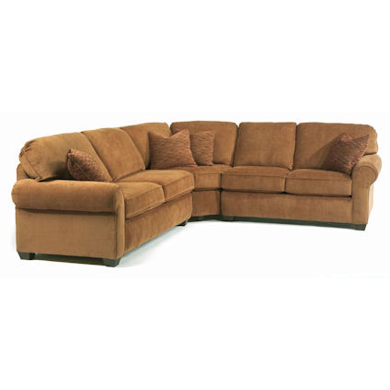 Flexsteel 5535 Sect Thornton Sectional Sofa Discount